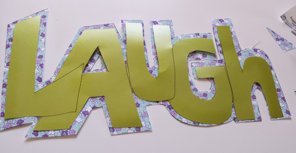 lettering,scrapbook,paper,cut-out,glue