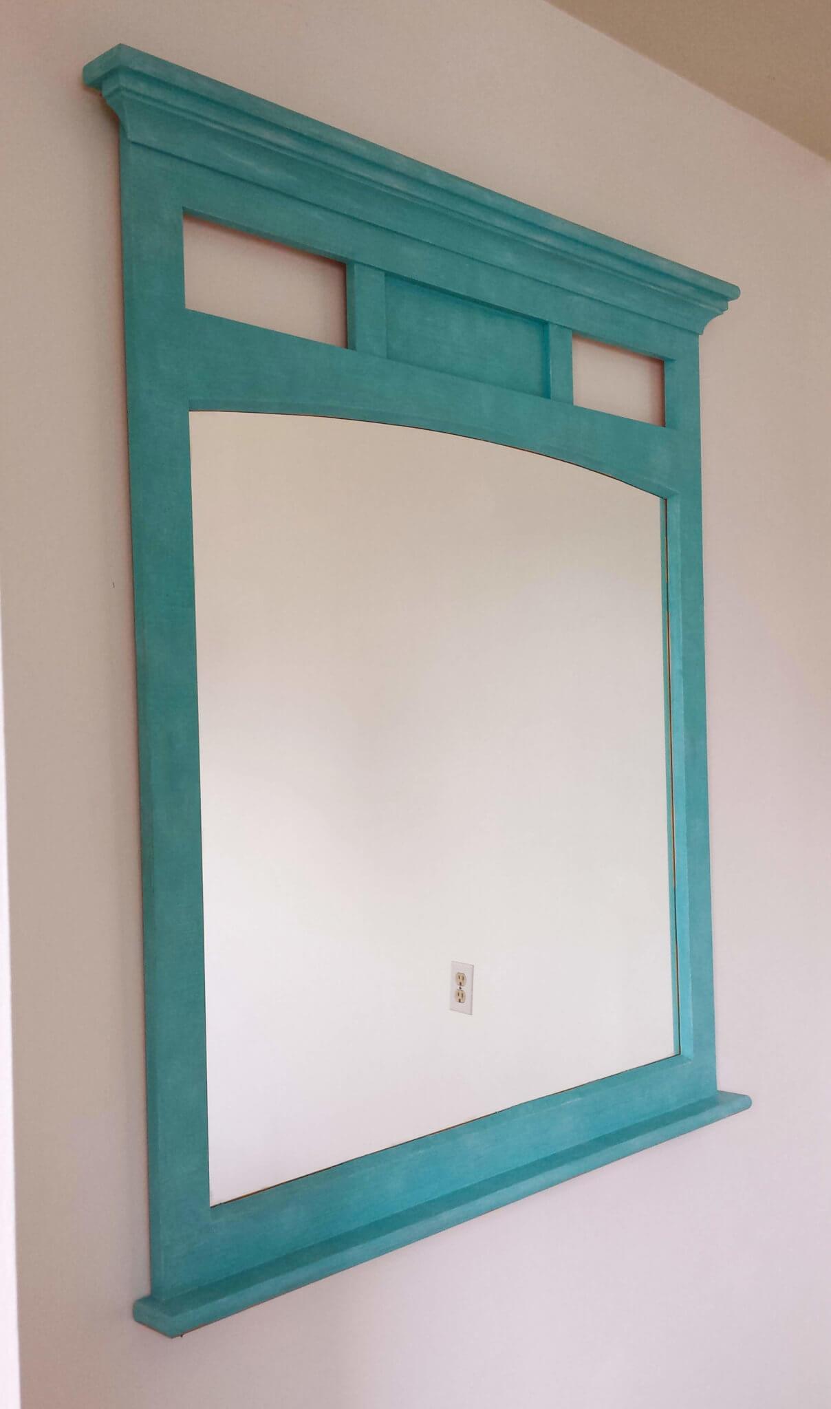 The Turquoise Mirror Diy