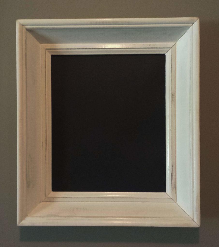 Learn To Make Shabby Chic Chalkboard Frames