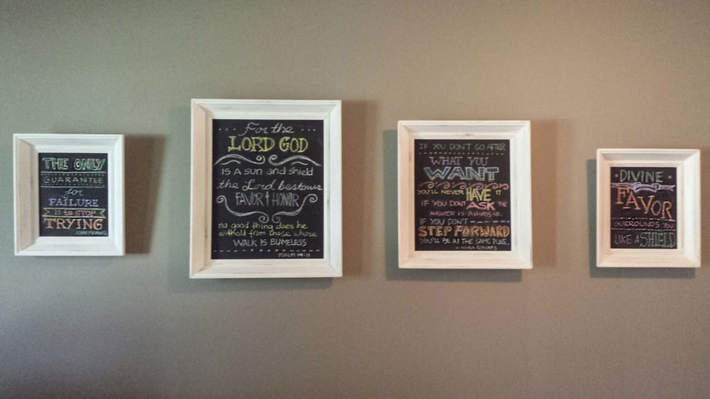 chalkboard-frames-on-the-wall-with-lettering