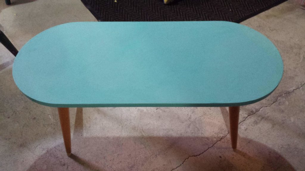 distressed, coffee table, painted, chalk paint