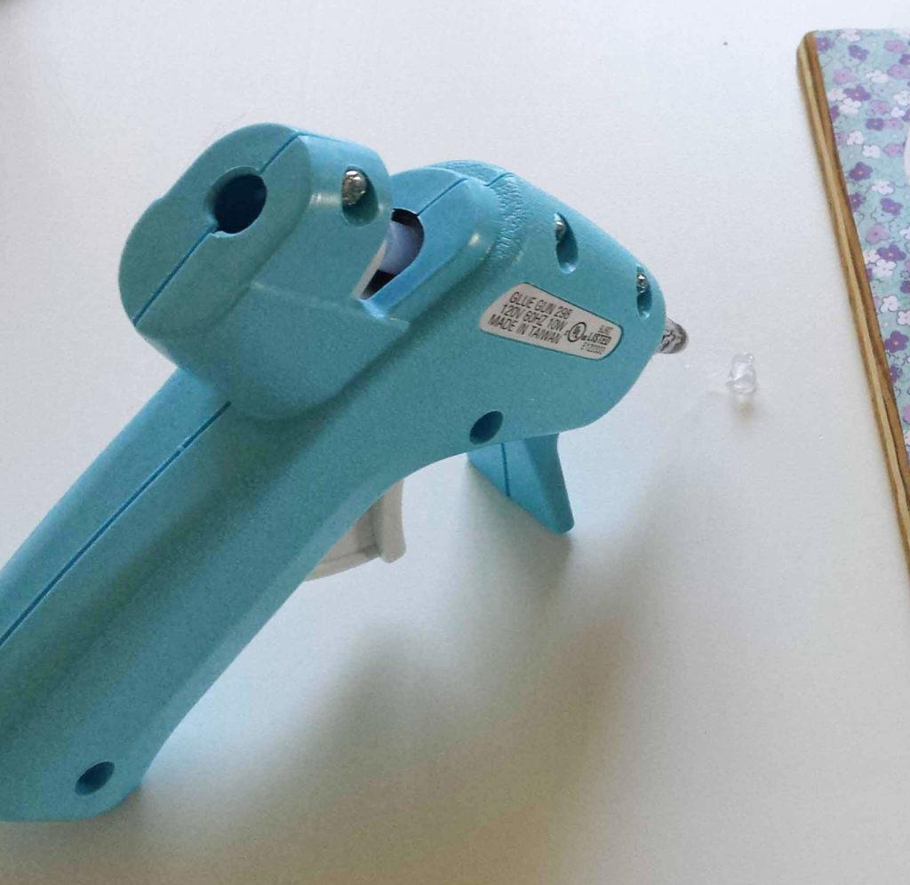 glue gun, hot glue