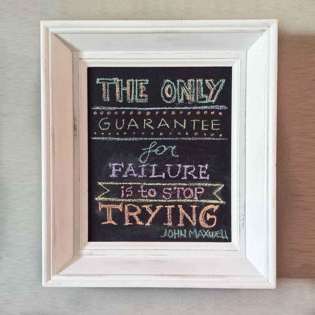 Learn To Make Shabby Chic Chalkboard Frames