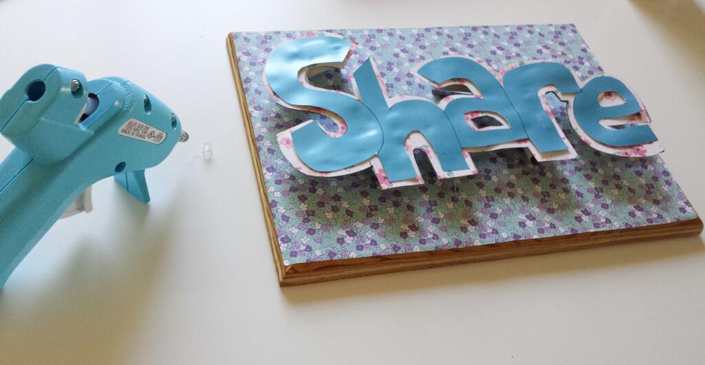 lettering,pop-up frame