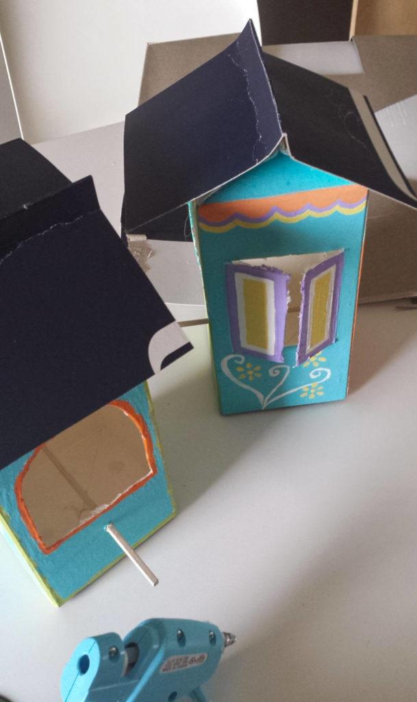 milk carton,juice,carton,bird feeder
