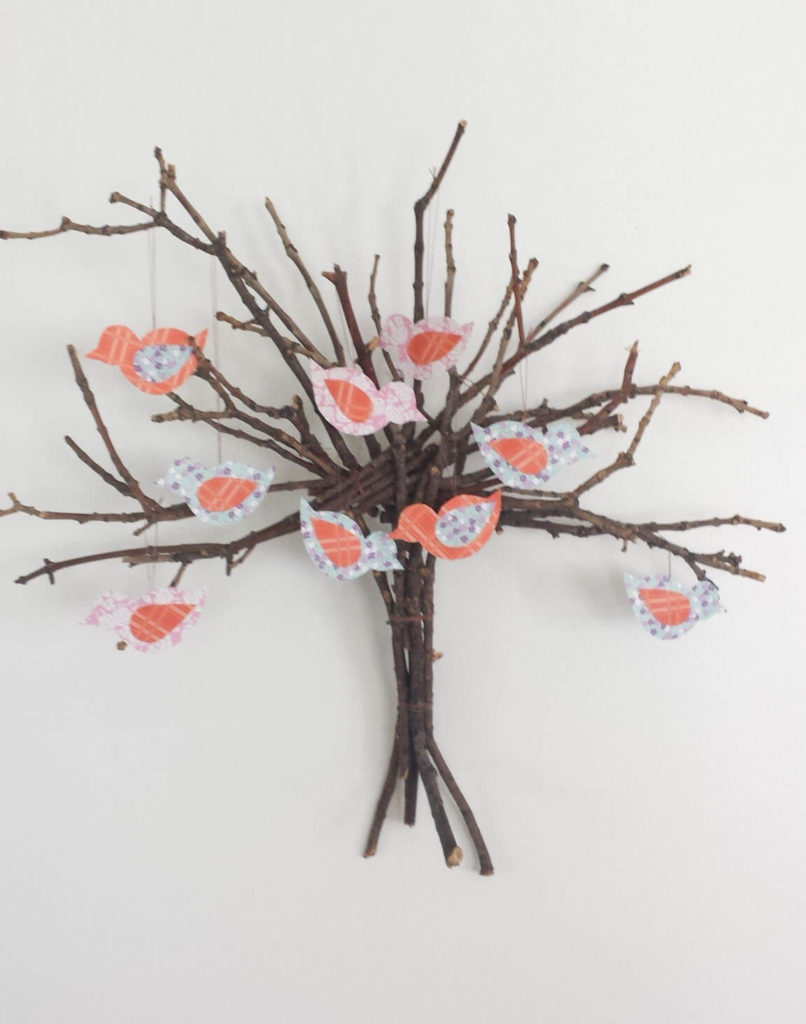 twig tree wall decor diy twig lobster wall decor world market