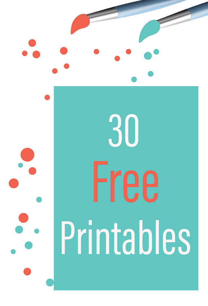 30 free printable from fancy momma