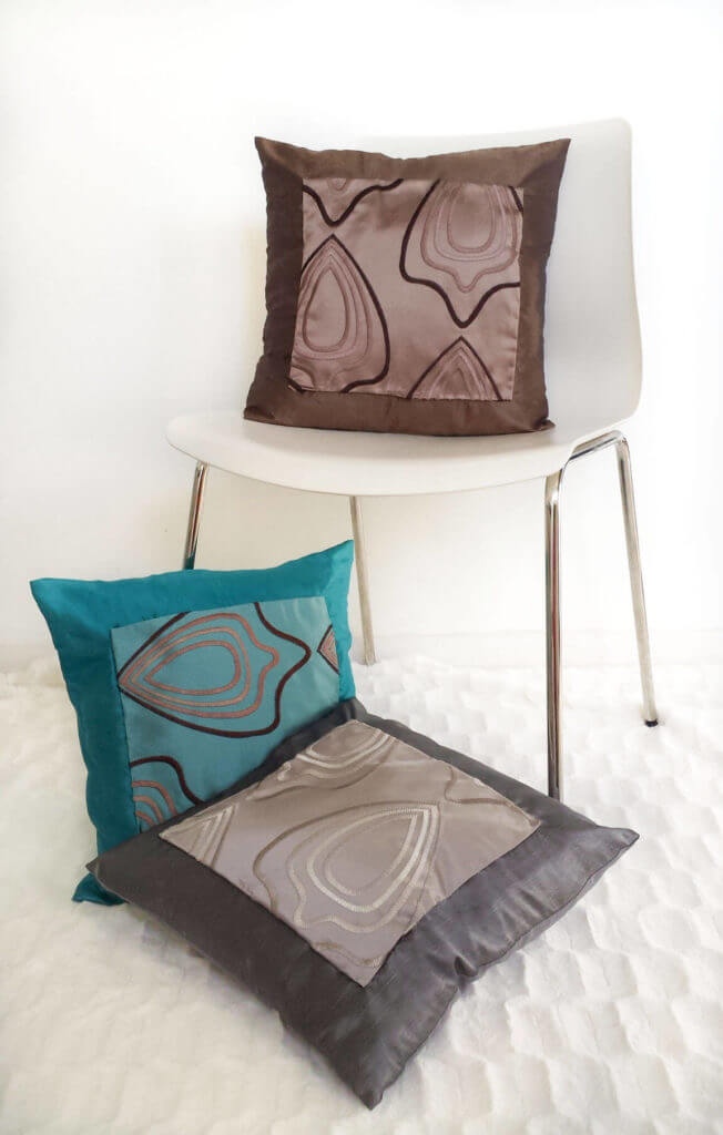 Learn How To Use Fabric Swatch For Throw Pillows Extraordinary How To Use Decorative Pillows
