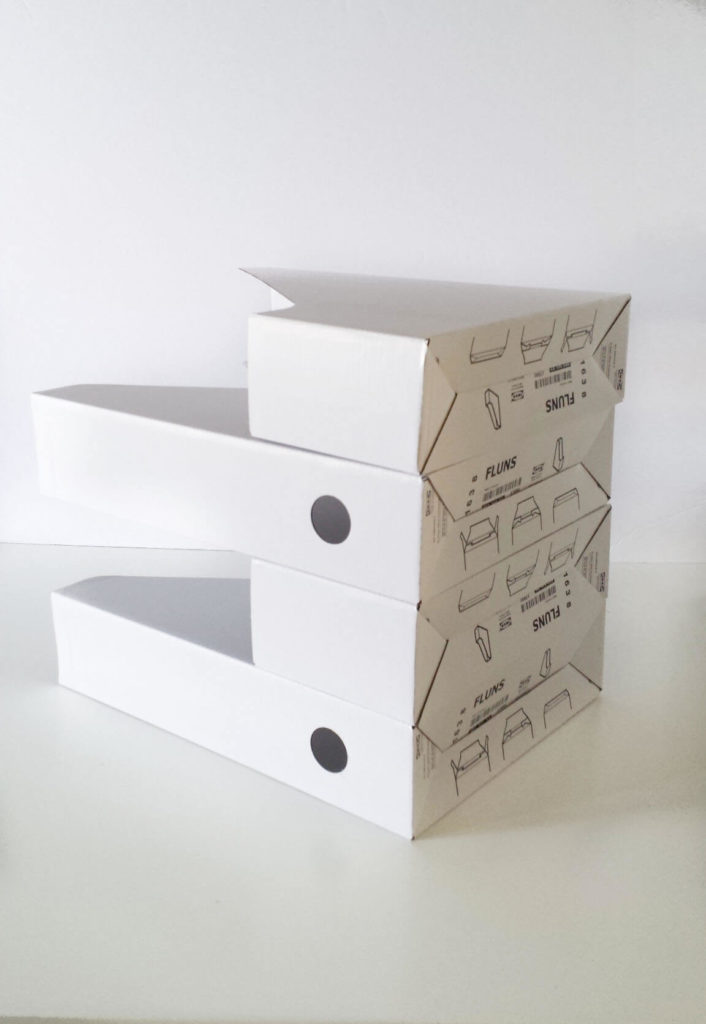 Learn how to ikea hack paper organizer diy for Ikea paper holder storage