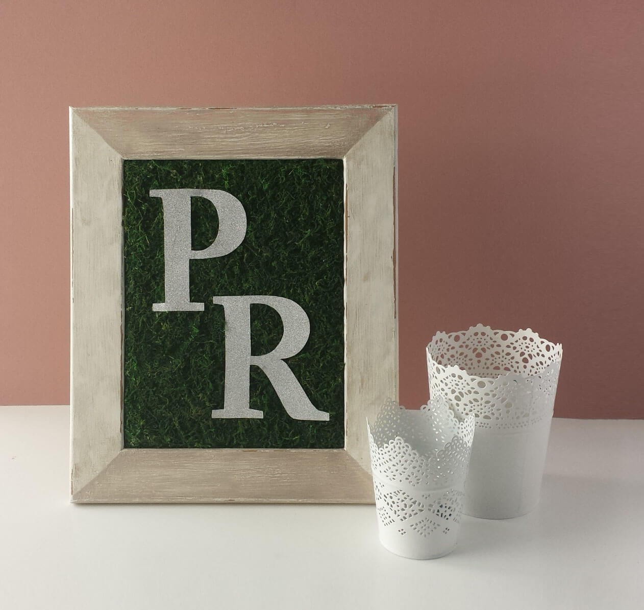 wedding monogram diy