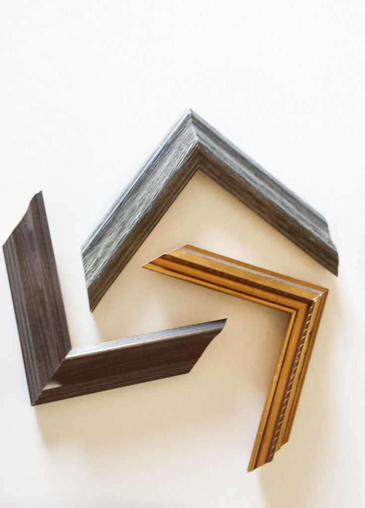 First, Use Wood Glue Over The Edge Of The Frame And Connect That To Another  Frame. Use Painteru0027s Tape To Hold It Together In Place And Leave Overnight  For ...