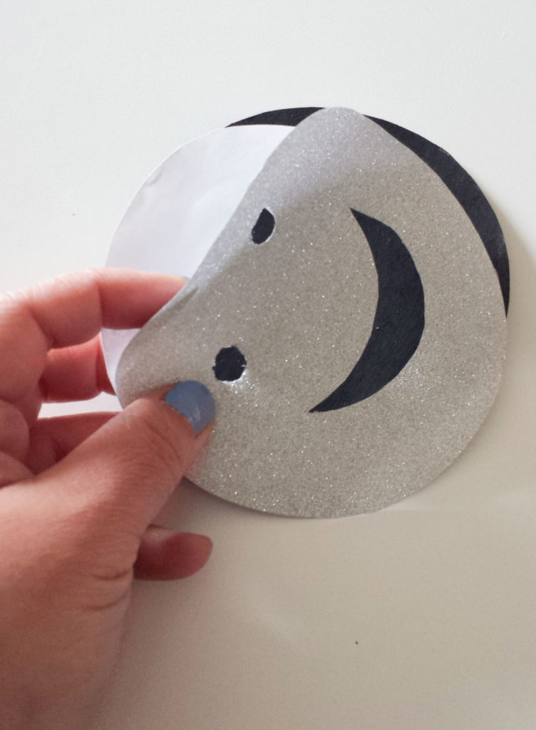 peel adhesive for emoji wall decor