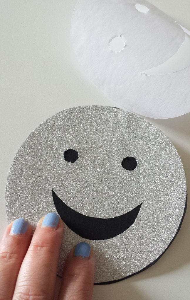press adhesive paper for emoji wall decor