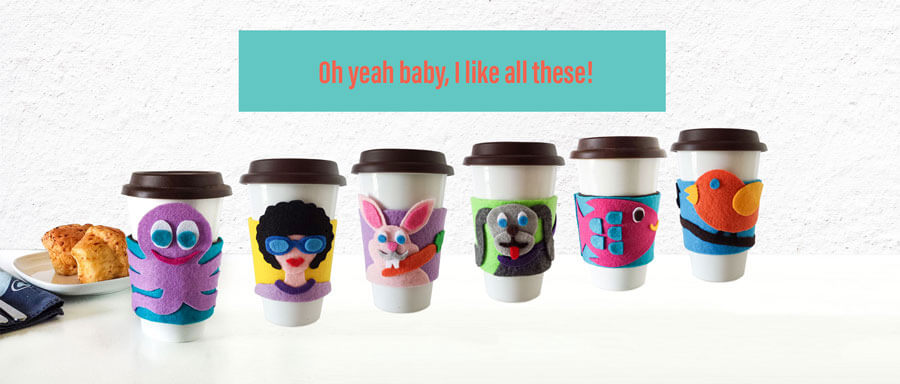 free coffee sleevepatterns from fancymomma.com
