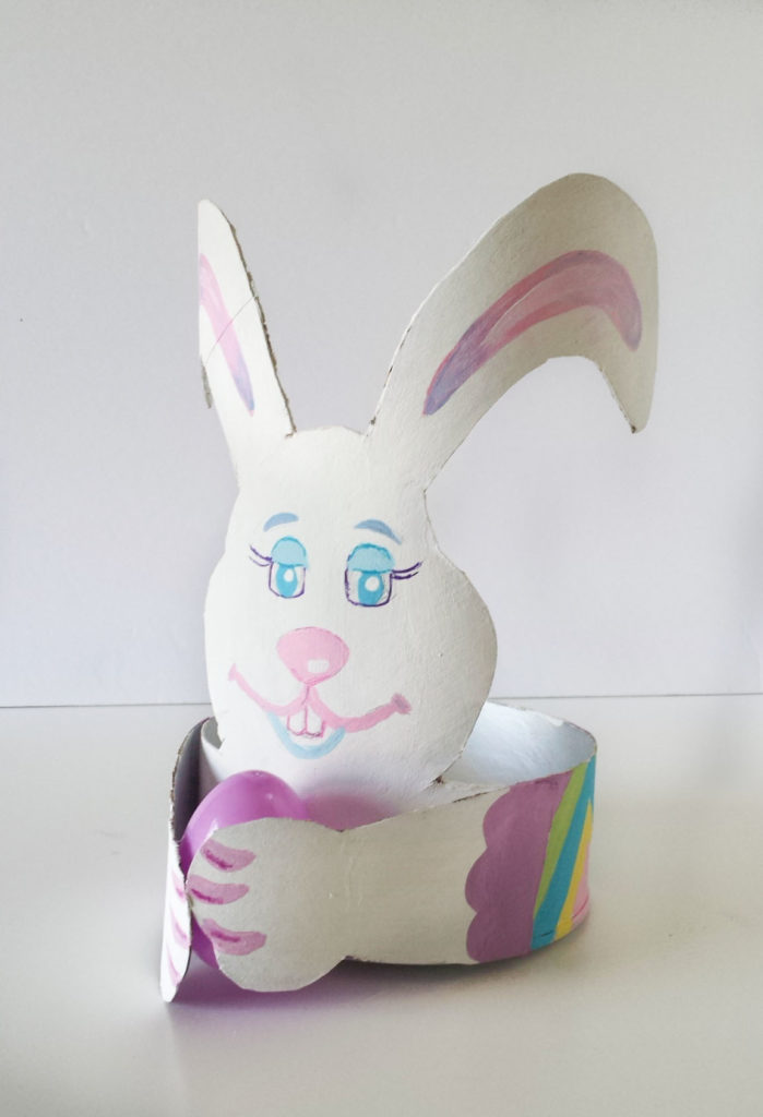 Easter decor diy for Rabbit decorations home