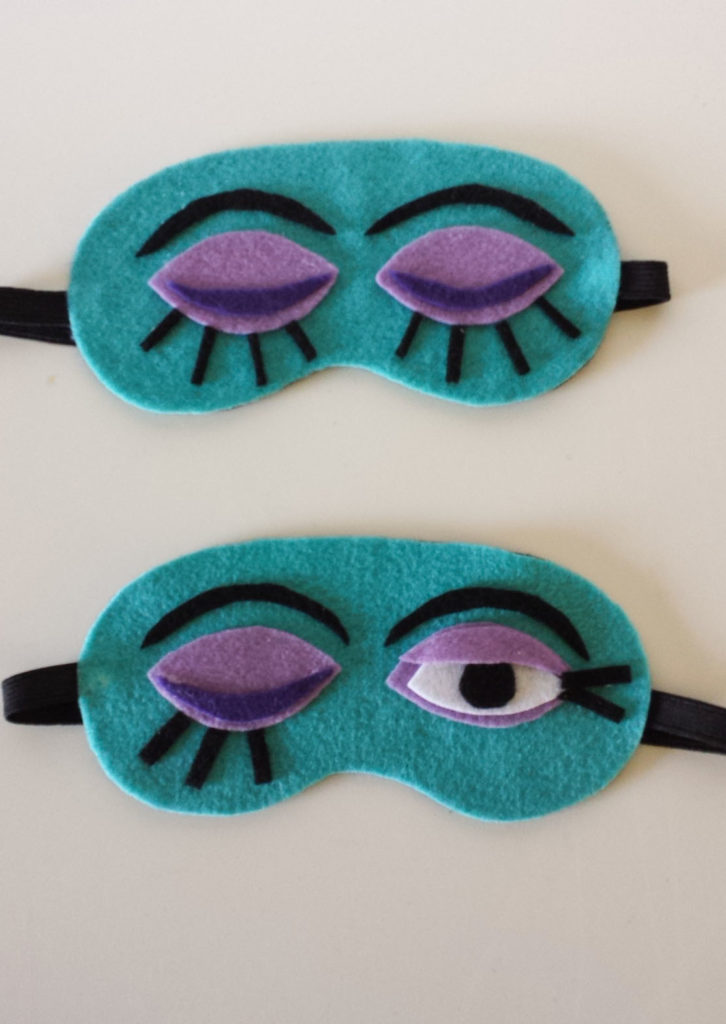 how to make a mask and pair picture