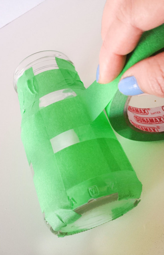 tape jar for desk organizer diy