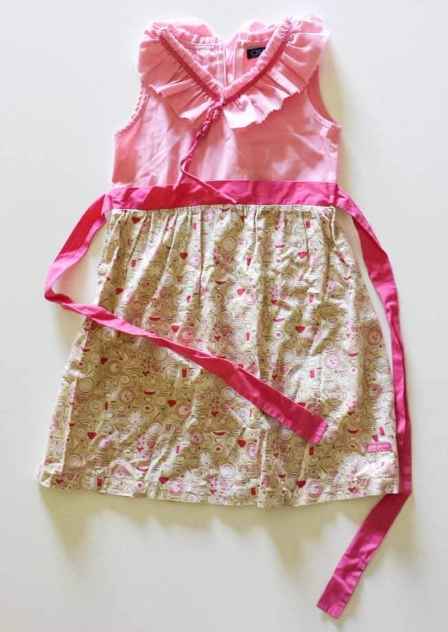 childrens old dress