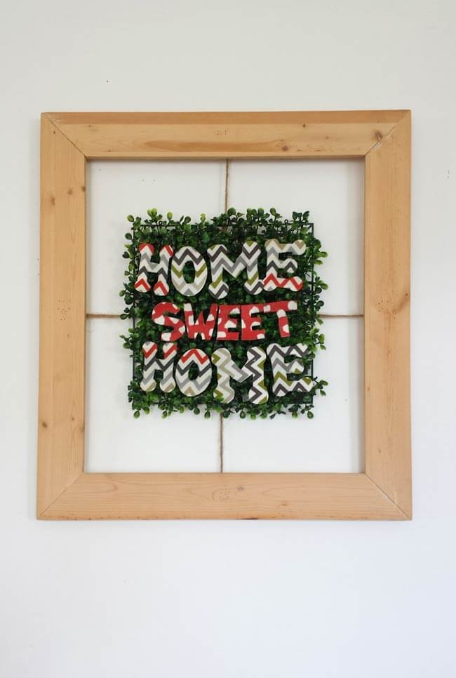 frame decor diy