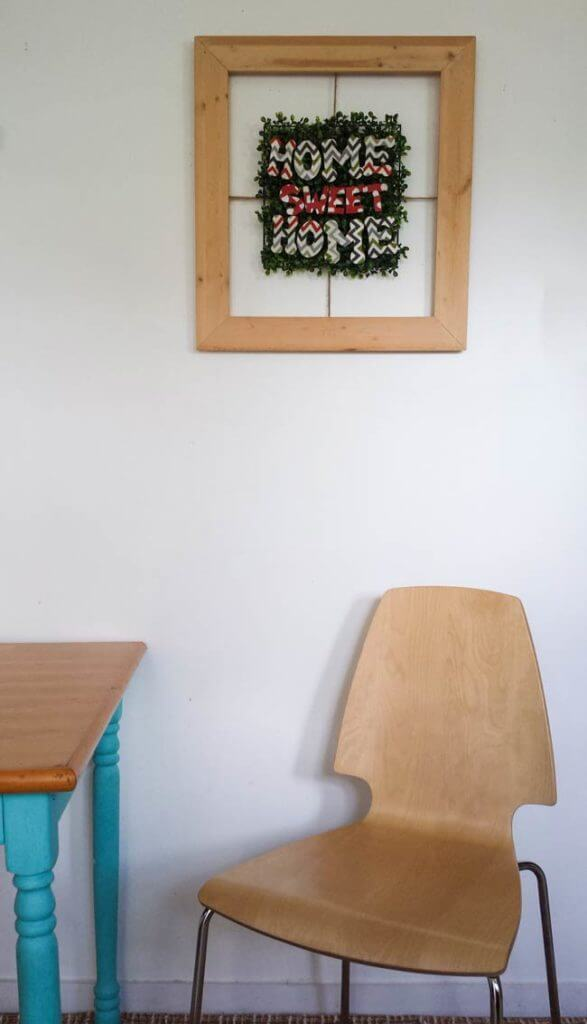 Frame Decor Diy - Home Sweet Home Sign