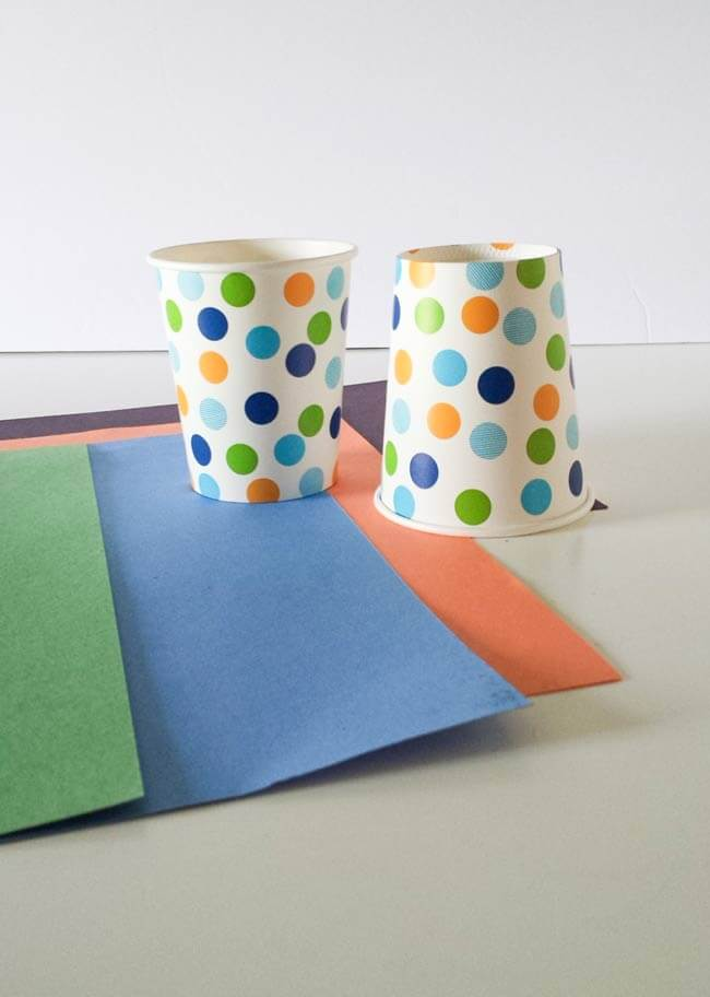 paper cups for paper cup craft