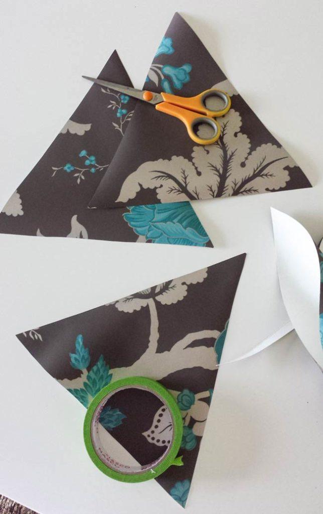 paper cut outs for paper ornament diy