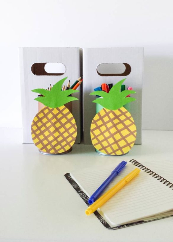 pineapple tin can diy