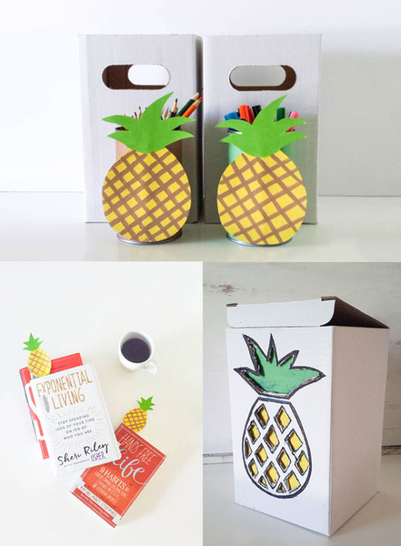 pineapple theme crafts