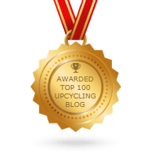 best upcycling blog badge