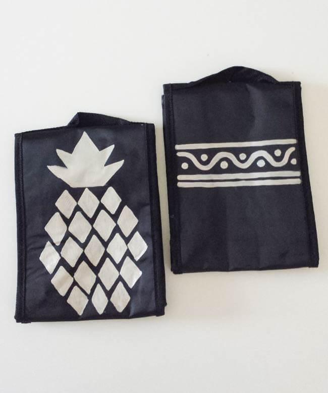 designs on lunch bag makeover