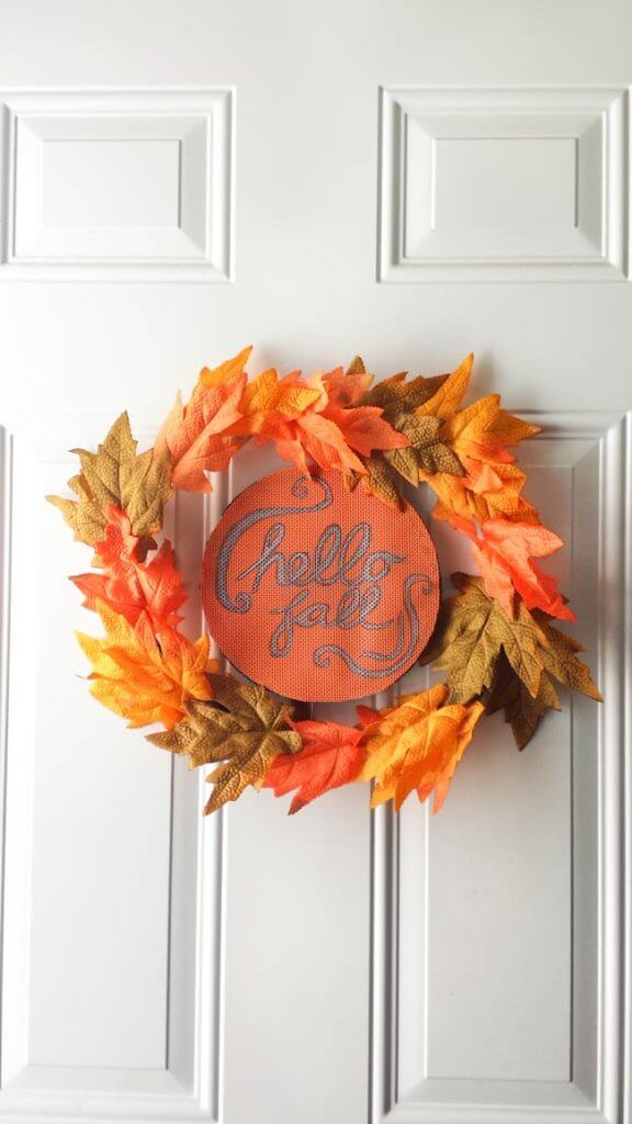 Fall Wreath Diy The Super Easy Way To Make One